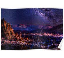 Big Bend Milky Way Magic Poster