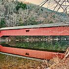 The Hillsgrove Covered Bridge Restored by Penny Rinker