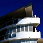 Curved Architectural Corner in Brisbane by Marguerite Scaife