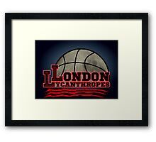 London Lycanthropes Framed Print
