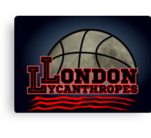 London Lycanthropes Canvas Print