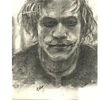 Heath Ledger-Joker Photographic Print
