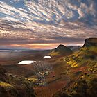 Quiraing at Sunrise. Trotternish. Isle of Skye. Scotland. by photosecosse /barbara jones