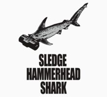 Sledge Hammerhead Shark by pixelman