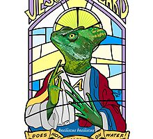 Jesus Christ Lizard by Tai's Tees by TAIs TEEs