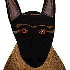 Dog - German Shepherd by Verene Krydsby