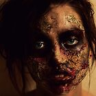 Practice zombie/ horror make-up by Kaila Quint
