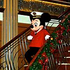 Anchors Away Captain Mickey  by Jeannie  Mazur