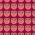 Pink Owls - iPad Case by Louise Parton