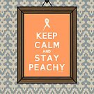 Keep Calm Ribbon (Framed) by DParry