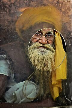 Yellow Turban at the Window by Valerie Rosen
