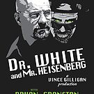 Dr. White and Mr. Heisenberg by moysche