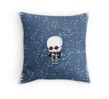 Chibi Mr. Freeze Throw Pillow