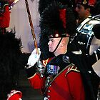 Drum Major, The Black Watch, 3rd Battalion, Royal Regiment of Scotland by Colin Shepherd