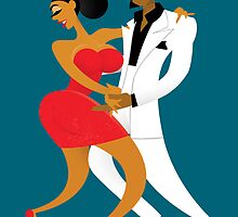 Latin Dancers by drawgood