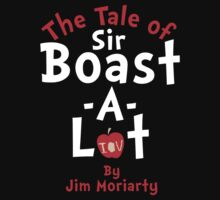 The Tale of Sir Boast-A-Lot (Just Title Variant) Kids Clothes
