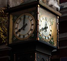 Gastown Clock by timothysilva