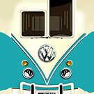 Blue Volkswagen VW with chrome logo iphone 5, iphone 4 4s, iPhone 3Gs, iPod Touch 4g case, Available for T-Shirt man and woman by Pointsale store.com