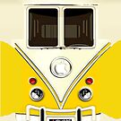Yellow Volkswagen VW cartoons iphone 4 4s, iPhone 3Gs, iPod Touch 4g case by www. pointsalestore.com
