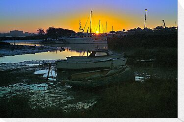 Creek Dawn Poole Harbour by delros
