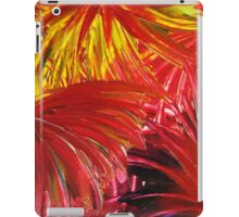 FIREWORKS IN RED - Stunning Bright Bold Acrylic Autumn Colors Leaves Fall Festival Firecrackers Lights iPad Case/Skin