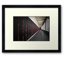The Ghost Stood Tall Framed Print