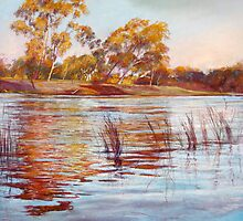 Reflections of Ekberg's Island by Lynda Robinson