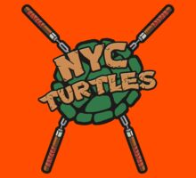 New York City Turtles - Mikey by goldenote