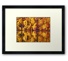 full of yellows Framed Print