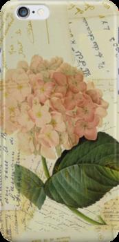 Decoupage hydrangea by venitakidwai1