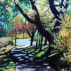 'THE WALK AROUND BROYHILL PARK (#1)' by Jerry Kirk