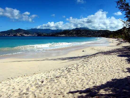 Grand Anse Beach, Grenada. by John Dalkin