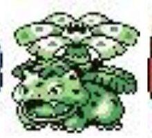 Pokemon Original Starters by s0ph13c