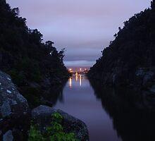 Pre dawn at Cataract Gorge, Launceston Tasmania  by spyke