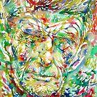 SAMUEL BECKETT watercolor portrait by lautir