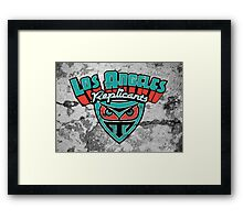 Los Angeles Replicants Framed Print