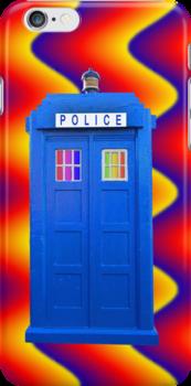 Mobile Disco Cop Shop by simpsonvisuals
