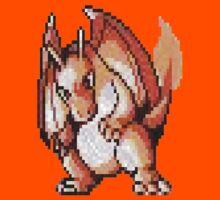 Pokemon Charizard Sprite by s0ph13c