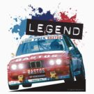 BMW E30 M3 Racing - Bastos Livery by Sharknose