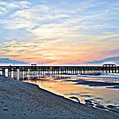 Morning At The Pier in HDR by ©Dawne M. Dunton