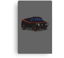 The A-Team Van  Canvas Print