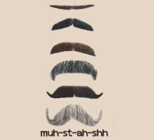 SUPPORT MOVEMBER- Mu-st-ah-shh! Real Moustache! by BennH
