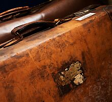 Vintage Luggage by Ellesscee