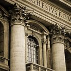 St. Peter's Basilica  by Katarzyna Siwon
