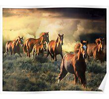High Desert Thunder Poster