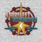 Starfleet Headquarters - Full Back by Jeffery Wright