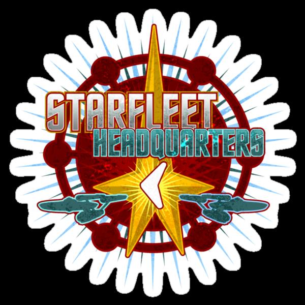 Starfleet Headquarters - Full Back by Jeffery Wright