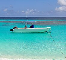 Boat in the Caribbean. by FER737NG