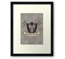 The Dragon Hunter (V1) Framed Print