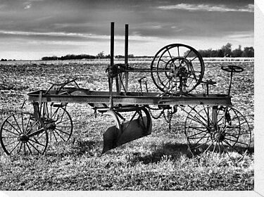 Horse Drawn Road Grader by Scott Hendricks